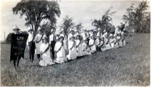 Lyn School Fair Parade c1918 SF2#8a