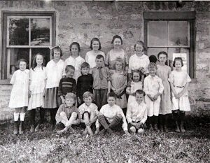 Rock School Class abt 1920 SF (2)