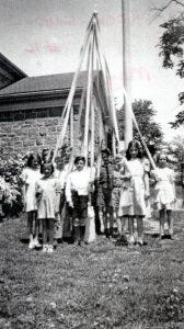 Rock School Maypole Dance c1940's SF5#21
