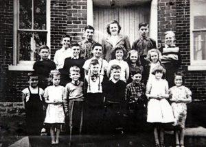 Sherwood Springd School Last Class 1957 SF8#
