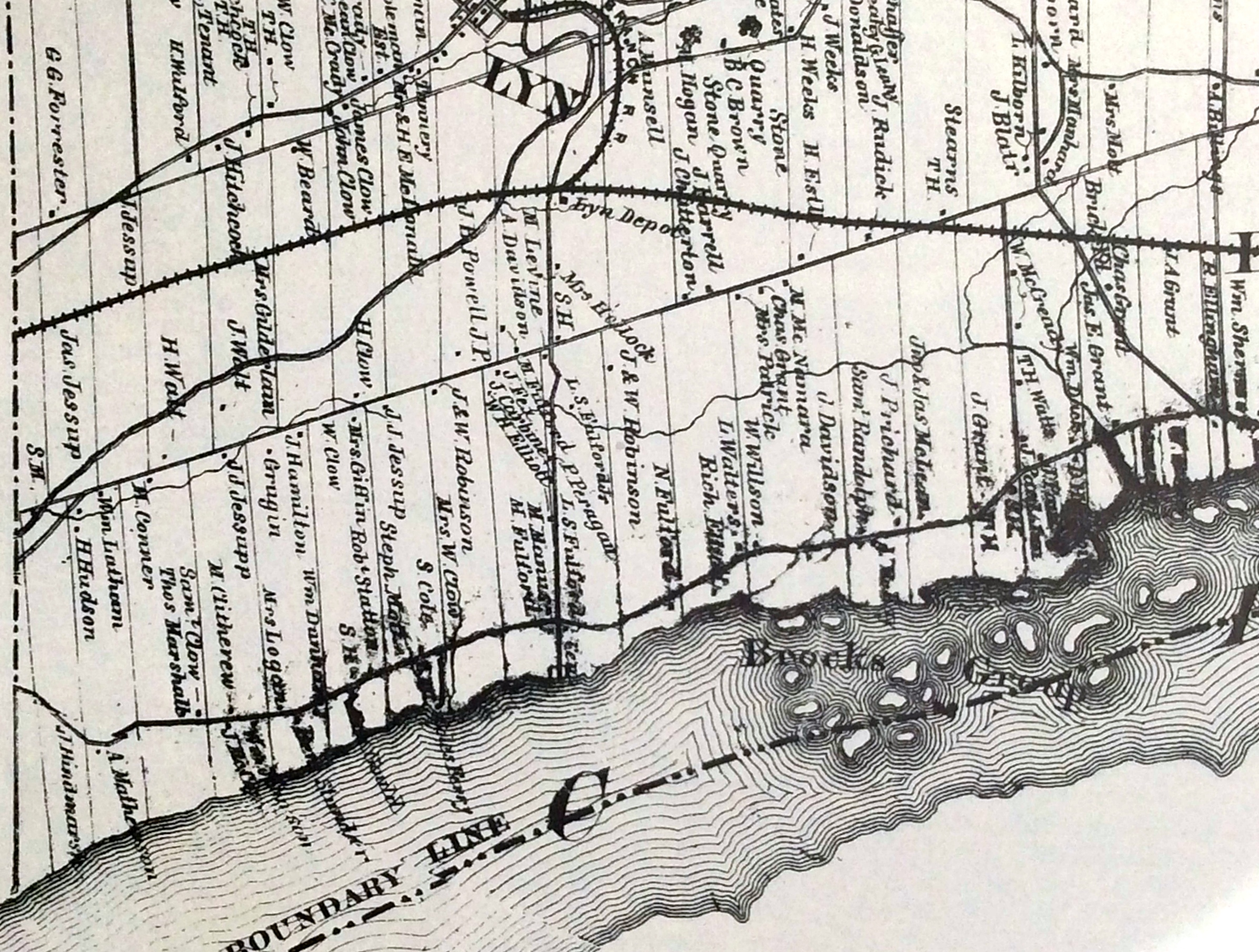 Elizabethtown Township Map of 186162 Heritage Place Museum